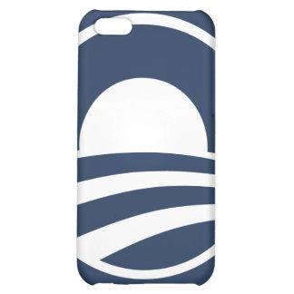 Barack Obama Large O Logo Dark Blue iPhone iPhone 5C Covers