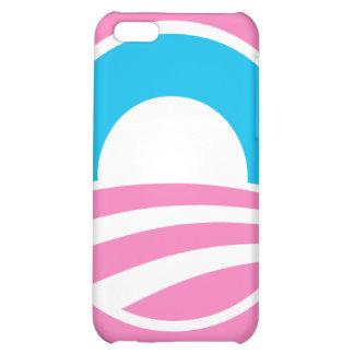 Barack Obama Large O Logo Pink iPhone Case iPhone 5C Cover