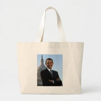 Barack Obama Large Tote Bag