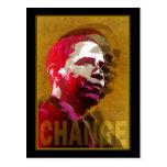 Barack Obama - Leadership Post Card