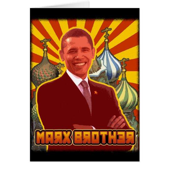 Barack Obama: Marx Brother Card