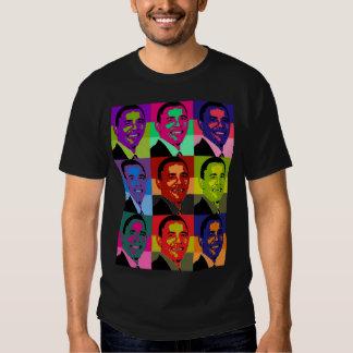 Barack Obama multi colored Tee Shirt