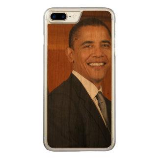 Barack Obama Official Portrait Carved iPhone 8 Plus/7 Plus Case