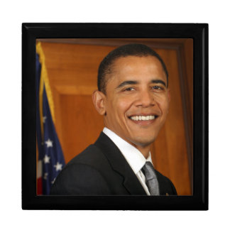 Barack Obama Official Portrait Gift Box