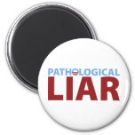 Barack Obama: Pathological Liar Refrigerator Magnet