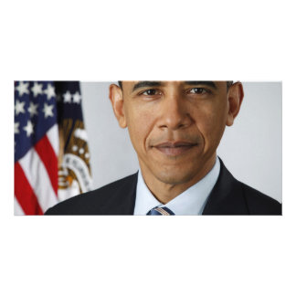 Barack Obama Customized Photo Card