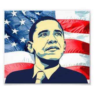 Barack Obama Photographic Print