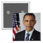 Barack Obama Pinback Buttons