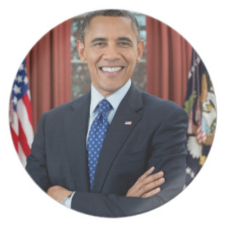 Barack Obama Plates