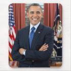 Barack Obama portrait Mouse Mat