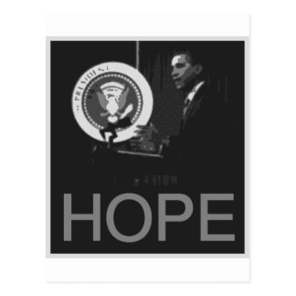 Barack Obama Postcard