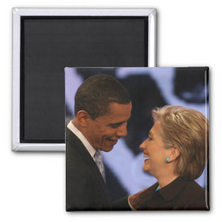 BARACK OBAMA Presidential Inauguration Gifts Square Magnet