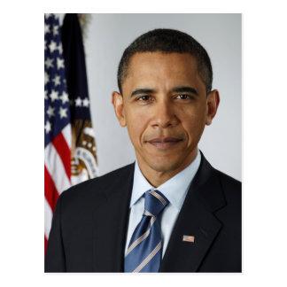Barack Obama Presidential Portrait Postcard