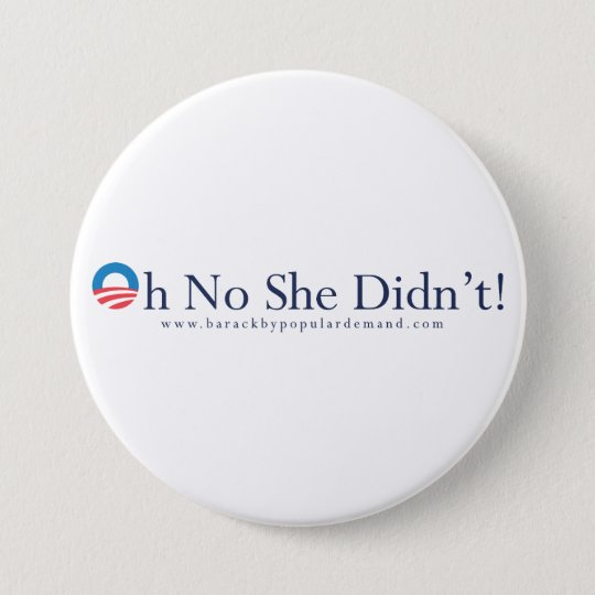 Barack Obama Primary Button