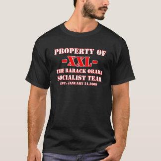 BARACK OBAMA - PROPERTY OF OBAMA SOCIALIST TEAM T-Shirt