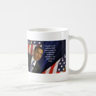 Barack Obama Quote on History Coffee Mug