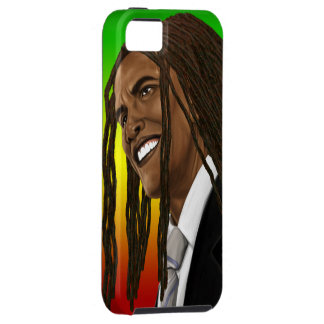 Barack Obama Rasta Reggae iPhone iPhone 5 Cover