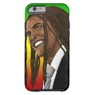 Barack Obama Rasta Reggae iPhone Tough iPhone 6 Case