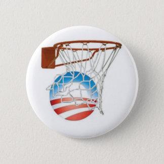 Barack Obama Scores in 2012! 6 Cm Round Badge