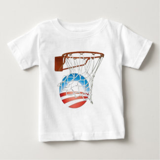 Barack Obama Scores in 2012! Baby T-Shirt