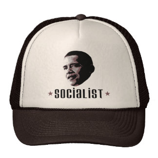 Barack Obama Socialist Trucker Hat
