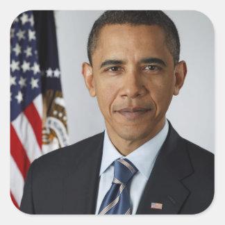 Barack Obama Square Sticker