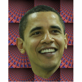 Barack Obama Standing Photo Sculpture