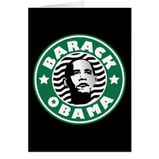 Barack Obama Star Caffeine Card