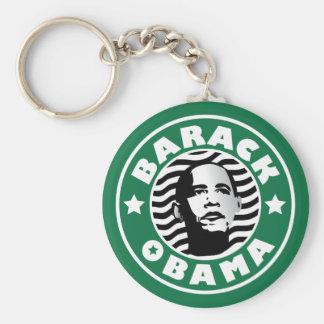 Barack Obama Star Caffeine Key Ring