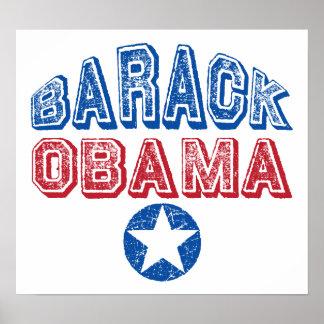 Barack Obama Star Print