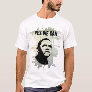 Barack Obama.Stencil.bckgrnd.cncrt T-Shirt