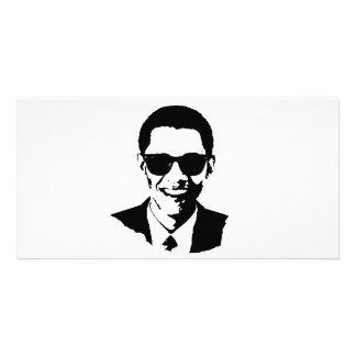 Barack Obama Sunglasses Picture Card