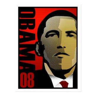 Barack Obama Super Hero Postcard