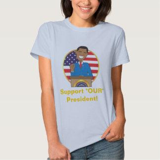 Barack Obama Support T-Shirt