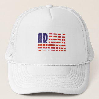 Barack Obama Support USA Flag Tees Gifts Trucker Hat