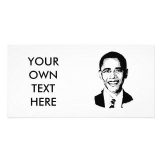 Barack Obama T-shirt Photo Card Template