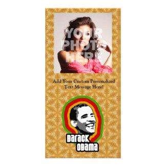 Barack Obama Throwback Customized Photo Card