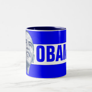 Barack Obama Two-Tone Coffee Mug
