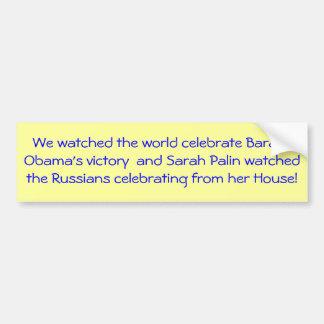 Barack Obama Victory Bumper Sticker