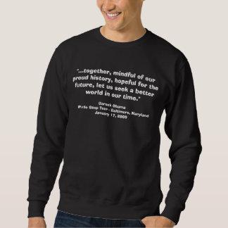 Barack Obama Whistle Stop Speech Pullover Sweatshirt