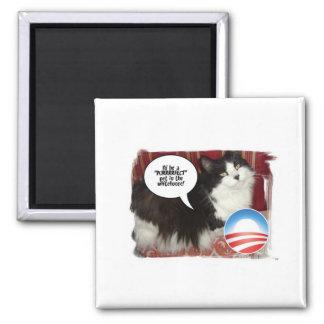 Barack Obama White-House Pet Magnet