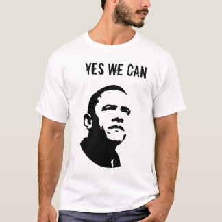 Barack Obama: YES WE CAN_edn T-Shirt