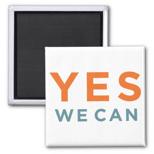 Barack Obama - Yes, We Can - magnet