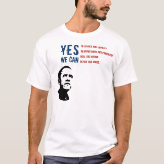Barack Obama - YES WE CAN... T-Shirt
