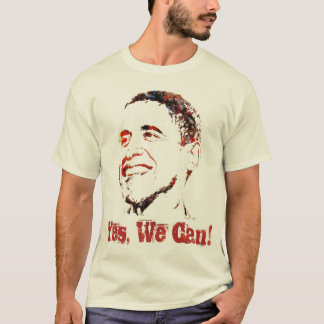 Barack Obama - Yes We Can! T-Shirt