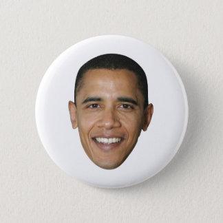 Barack Obama's Face 6 Cm Round Badge