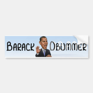 Barack Obummer Bumper Sticker