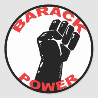 BARACK POWER STICKERS