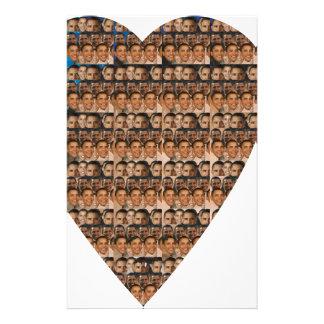 Barack s Face Stationery