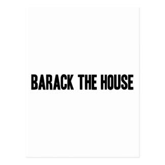 Barack The House Post-Card Postcard
